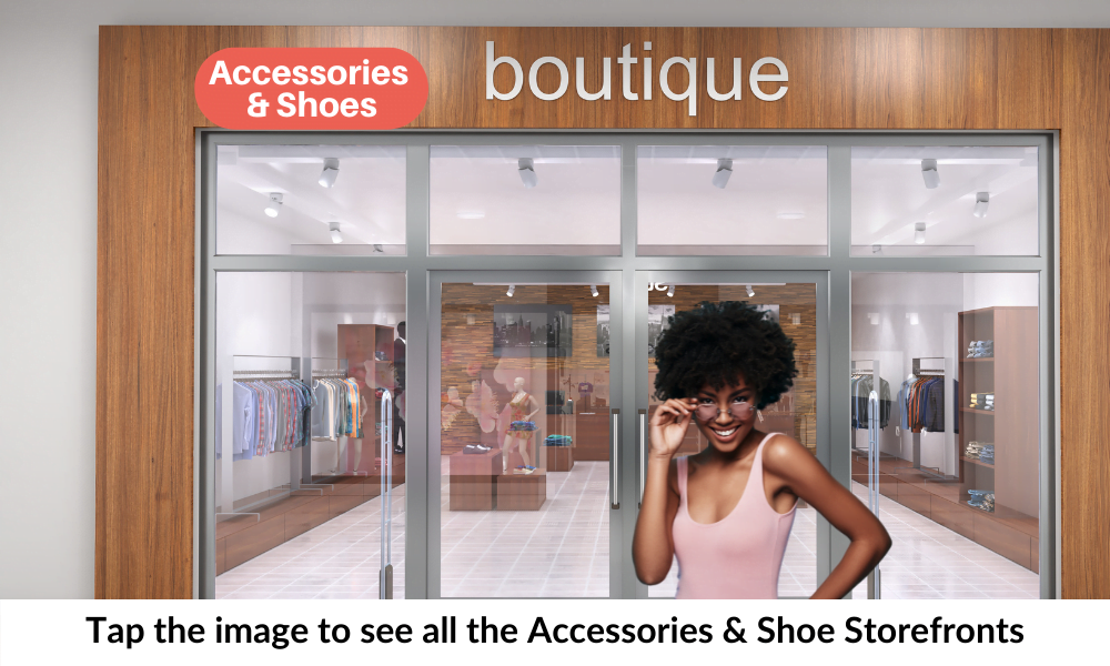 Storefront Accessories & Shoes Cover Pages